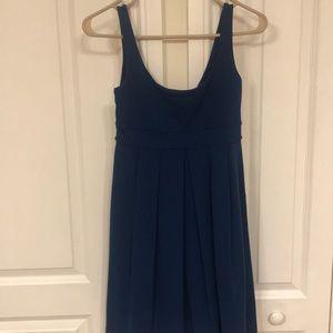 Susana Monaco Deep blue dress like new